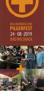 Pilgerfest 2019 Flyer